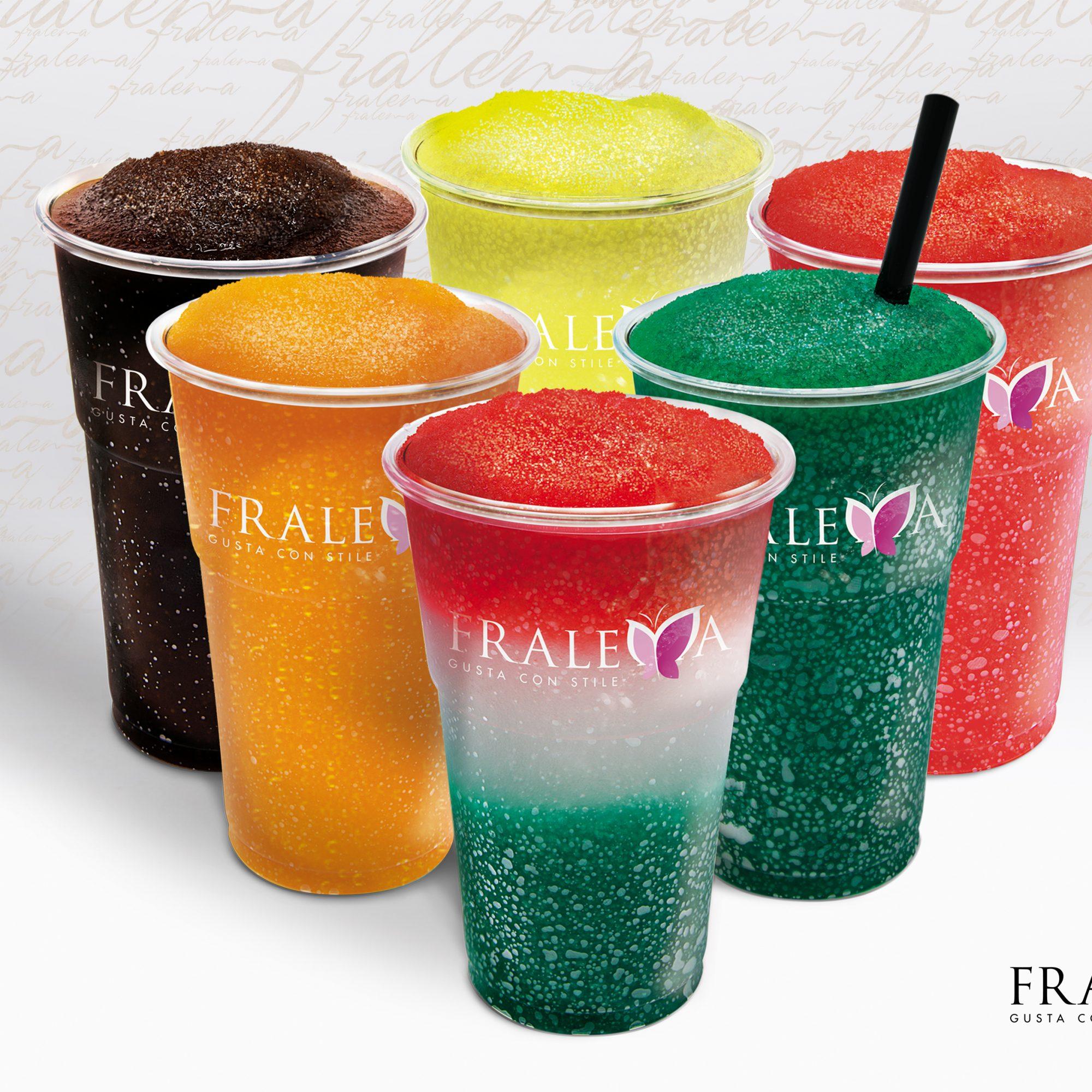 fralema_prodotti per la caffetteria_i freddi_granita limone_arancia_menta_mandarino_fragola_amarena_anguria_ frutti bosco_melone_cola